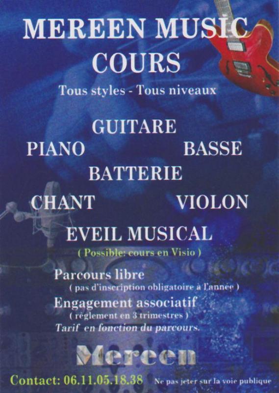 Flyer Mereen Music